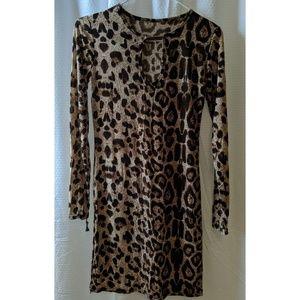 Dresses & Skirts - Sheer keyhole dress